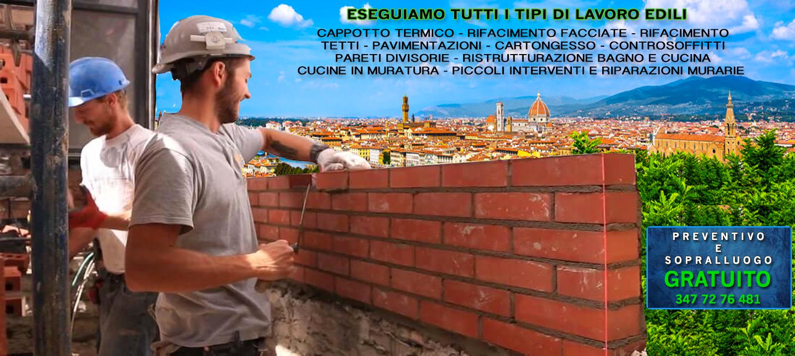 Pareti in cartongesso a Firenze