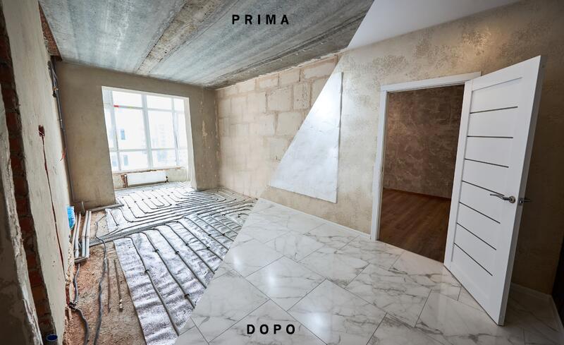 I nostri lavori: rifare la pavimentazione appartamento a Firenze