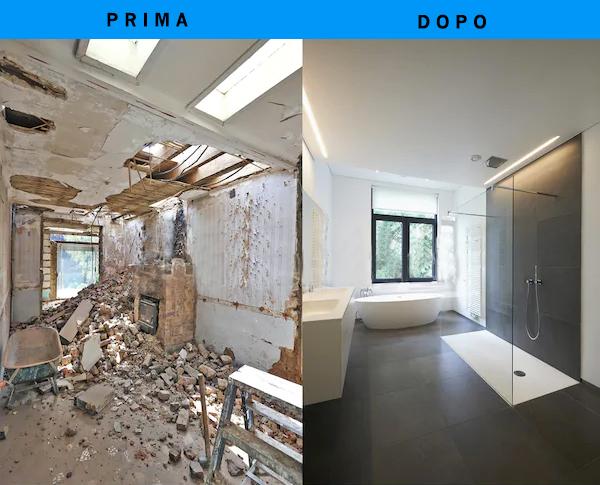 Ristrutturazione del bagno a Firenze