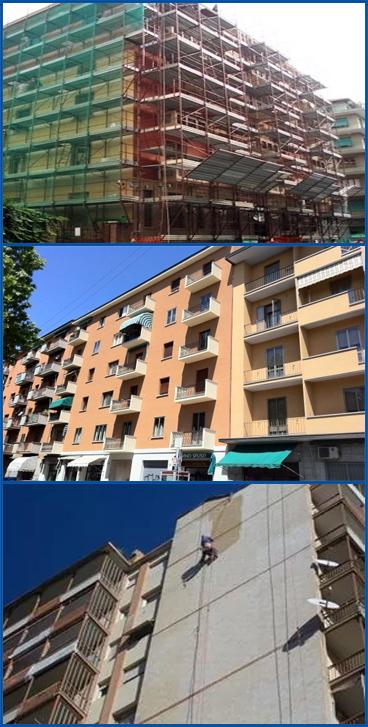 Servizi edili per il condominio a Firenze.