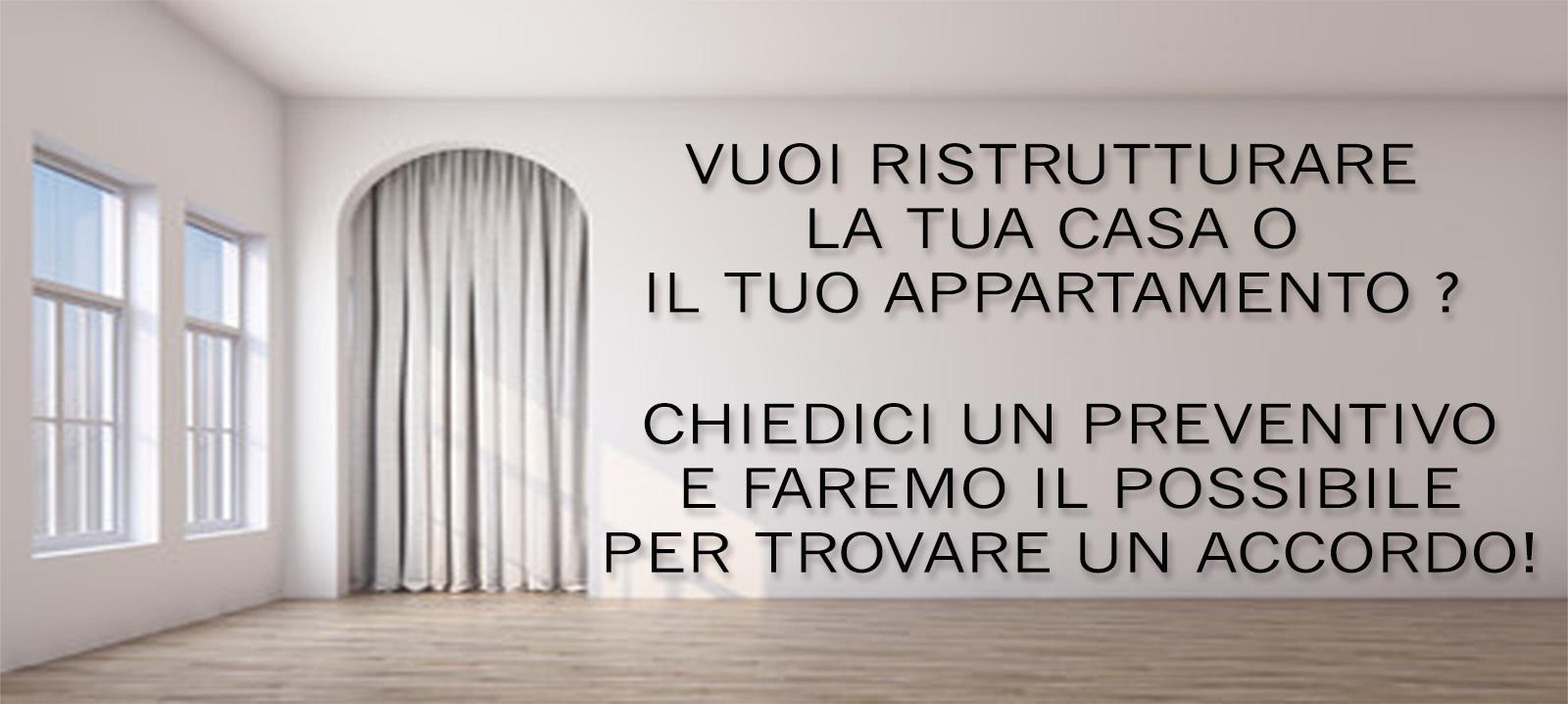 Ristrutturazioni appartamenti a Firenze