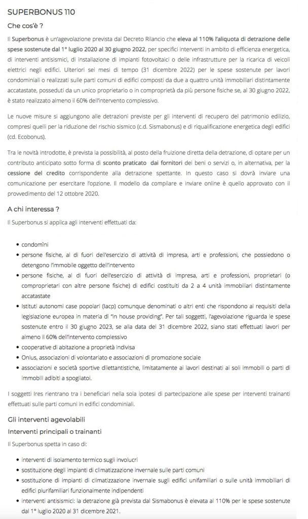 Superbonus ristrutturazione edilizia a Firenze